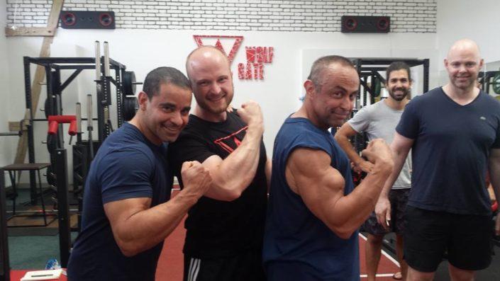 Mit dem weltweit erfolgreichsten Strength Coach, Charles R. Poliquin (alias Strength Sensei) in Prag.